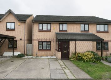 Thumbnail 3 bed semi-detached house for sale in Lamorna Close, Walthamstow, London
