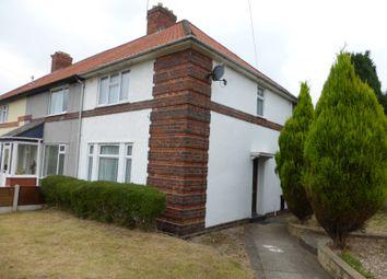 Thumbnail 3 bed semi-detached house to rent in Gospel Farm Road, Acocks Green, Birmingham