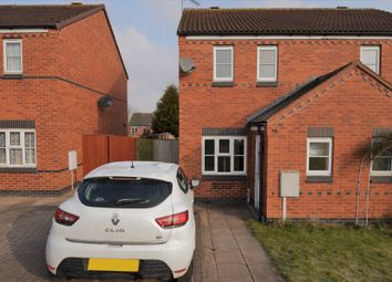 Thumbnail 2 bedroom semi-detached house for sale in Burdock Close, Hamilton, Leicester