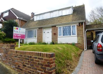 Thumbnail 4 bed detached bungalow for sale in The Crescent, Madeira Drive, Hastings