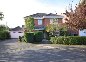 Thumbnail 4 bed detached house for sale in Gunthorpe Close, Oakham