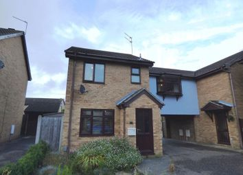 Thumbnail 3 bedroom link-detached house for sale in Bewick Close, Bradwell, Great Yarmouth