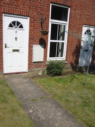 Thumbnail 1 bed terraced house to rent in Kensington Court, Stowmarket