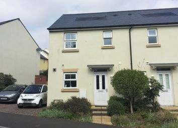 3 bed semi-detached house to rent in Lindemann Close, Sidmouth EX10
