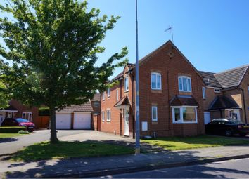 Thumbnail 4 bed detached house for sale in Nelson Way, Grimsby