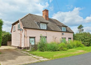 Thumbnail 2 bed cottage for sale in Morris Green, Sible Hedingham, Halstead