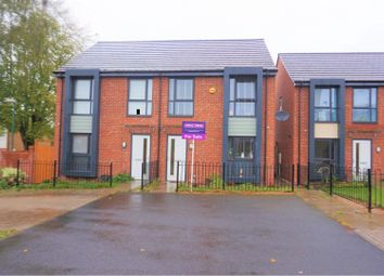 Thumbnail 3 bedroom terraced house for sale in Highbury Walk, Nottingham