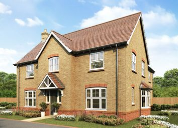 "Thumbnail 5 bed detached house for sale in ""Lambourne"" at Hatfield Road, Witham"