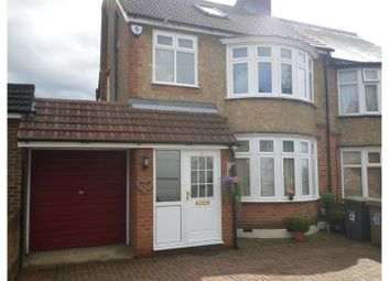 Thumbnail 4 bedroom semi-detached house for sale in Woodbury Hill, Luton