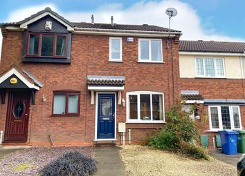 Thumbnail 2 bed terraced house for sale in Turner Close, Cannock