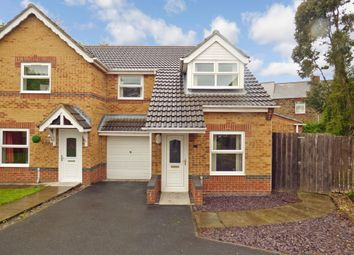 Thumbnail 3 bedroom semi-detached house for sale in Bluebell Close, Leadgate, Consett