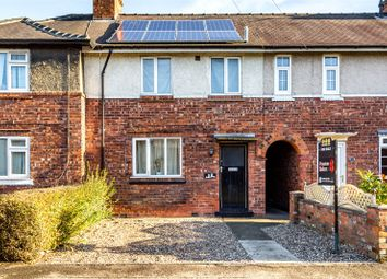 Thumbnail 4 bedroom terraced house for sale in Sixth Avenue, York