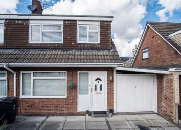 Thumbnail 3 bed semi-detached house for sale in Helston Avenue, Halewood, Liverpool