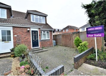 Thumbnail 1 bedroom end terrace house for sale in Botley Gardens, Sholing, Southampton