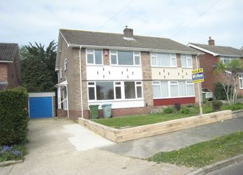 Thumbnail 3 bed semi-detached house to rent in Morshead Crescent, Fareham