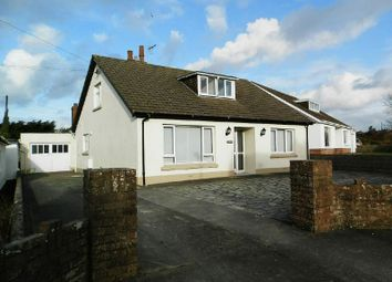 Thumbnail 4 bedroom detached bungalow for sale in Cardigan