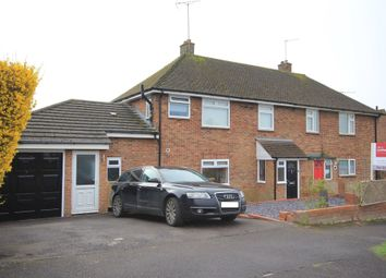 Thumbnail 4 bed semi-detached house for sale in Crossfield Road, Princes Risborough