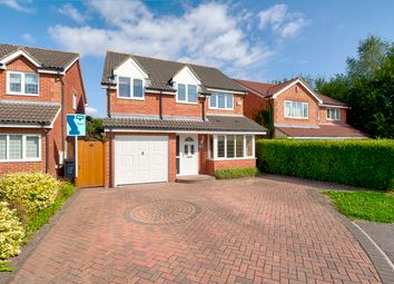 Thumbnail 4 bed detached house for sale in Shepherds Way, Nursling, Southampton
