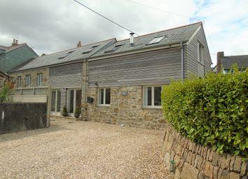 Thumbnail 4 bed semi-detached house for sale in Lower Drift, Buryas Bridge, Penzance, Cornwall.