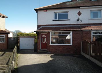 Thumbnail 2 bed semi-detached house to rent in Grange Crescent, Yeadon, Leeds
