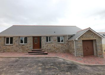Thumbnail 3 bed detached bungalow for sale in Willstone Meadow, Praze, Cornwall