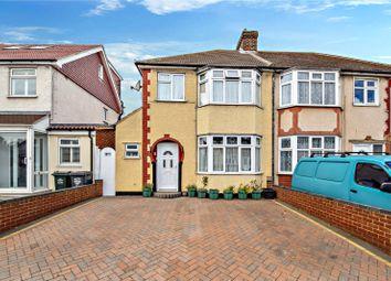 Thumbnail 3 bed semi-detached house for sale in Princes Avenue, Fleet Estate, Dartford, Kent