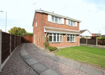 Thumbnail 2 bedroom semi-detached house for sale in Diamond Close, Biddulph, Stoke-On-Trent