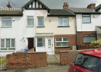 Thumbnail 3 bed terraced house for sale in Wellington Road, Edlington, Doncaster.
