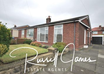 Thumbnail 2 bed semi-detached bungalow for sale in Luciol Close, Tyldesley, Manchester