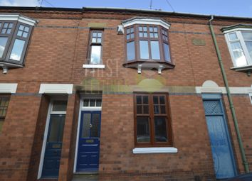 Thumbnail 3 bed terraced house to rent in Lytton Road, Leicester