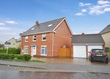 Thumbnail 6 bed detached house for sale in Baynard Avenue, Flitch Green, Dunmow