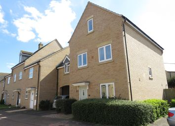 Thumbnail 4 bed town house for sale in Mallory Drive, Yaxley, Peterborough