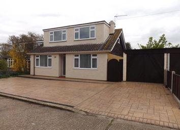 Thumbnail 4 bed detached house for sale in Bay Close, Canvey Island