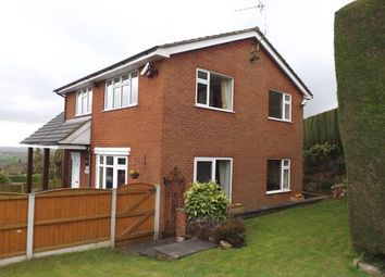 Thumbnail 4 bed detached house for sale in Mow Cop Road, Mow Cop, Stoke-On-Trent, Cheshire