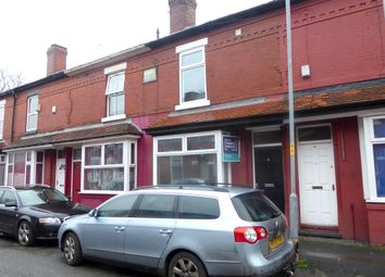 Thumbnail 3 bed terraced house for sale in Hibbert Street, Rusholme, Manchester