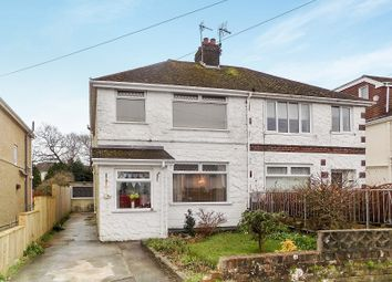 Thumbnail 3 bed semi-detached house for sale in Great Western Avenue, Bridgend