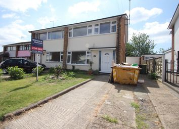 Thumbnail 3 bedroom semi-detached house for sale in Coombes Grove, Rochford