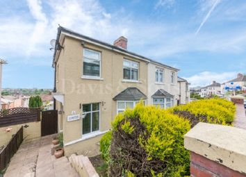 Thumbnail 3 bed semi-detached house for sale in Tennyson Road, Off Chepstow Road, Newport.
