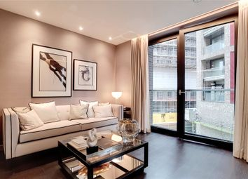 Thumbnail 3 bed flat for sale in Madeira Tower, The Residence, Ponton Road, London
