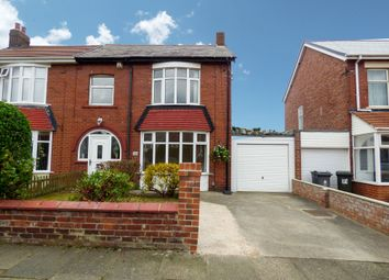 Thumbnail 2 bedroom semi-detached house for sale in Brighton Grove, North Shields