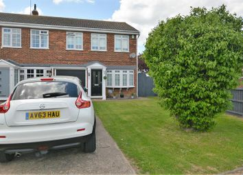 Thumbnail 3 bed end terrace house for sale in Turner Close, Shoeburyness, Southend-On-Sea