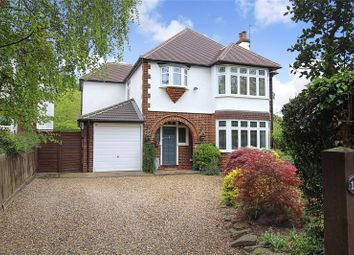 Thumbnail 4 bed detached house for sale in Harpenden Road, St. Albans, Hertfordshire