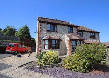 Thumbnail 3 bed semi-detached house for sale in Marsh Way, Swanage
