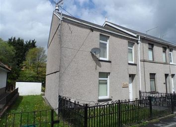 Thumbnail 3 bed end terrace house to rent in Foundry Road, Hirwaun
