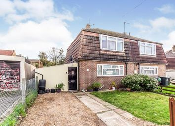 Thumbnail 3 bed semi-detached house for sale in Brice Road, Higham, Rochester, Kent