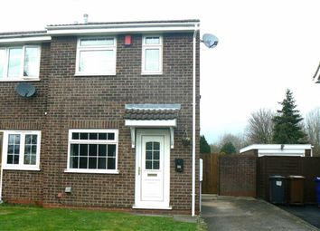 Thumbnail 2 bed town house for sale in Duchy Close, Burton On Trent, Staffs