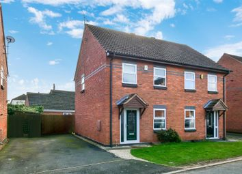 Thumbnail 2 bed semi-detached house for sale in St. Agnes Close, Studley