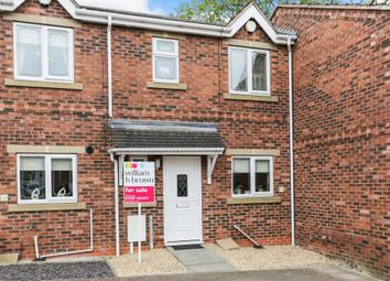 Thumbnail 2 bedroom town house for sale in Thornwood Court, Thurnscoe, Rotherham