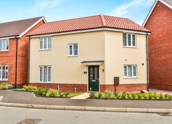 Thumbnail 3 bed detached house for sale in Mallard Way, Sprowston, Norwich
