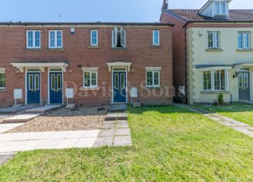 Thumbnail 2 bedroom end terrace house for sale in Buccaneer Grove, Off Morgan Way, Newport.